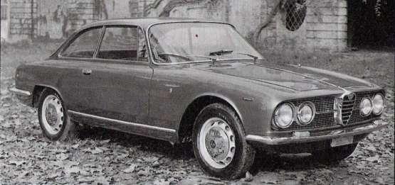 Alfa Romeo 2000 Sprint 1960