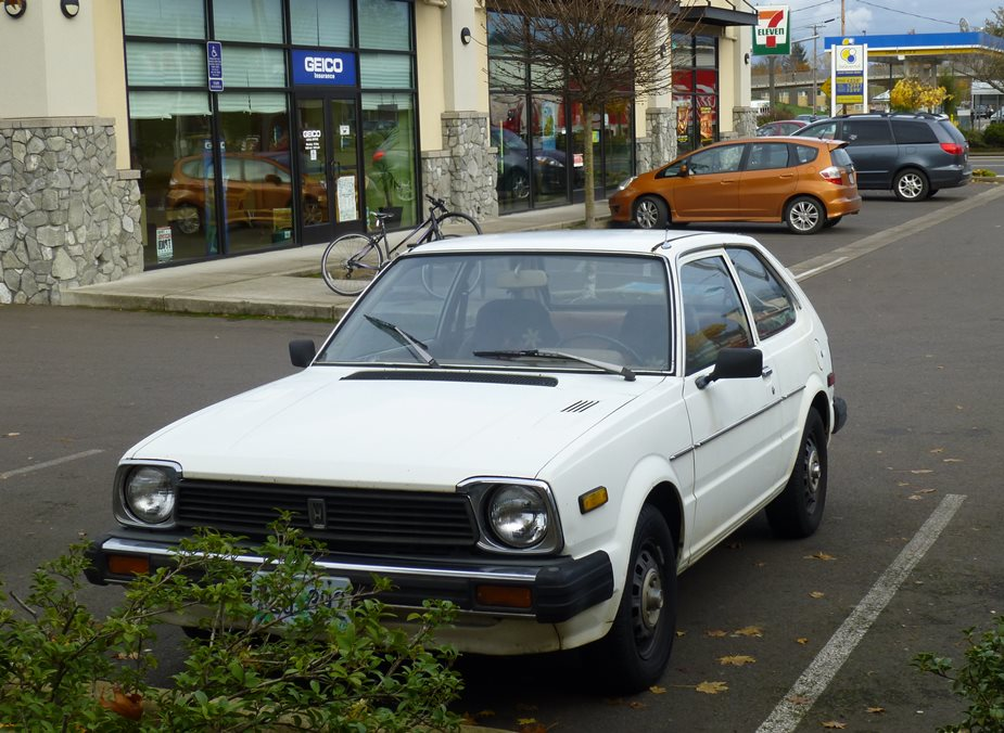 Curbside Classic 1980 1983 Honda Civic Gen2 The Best Small