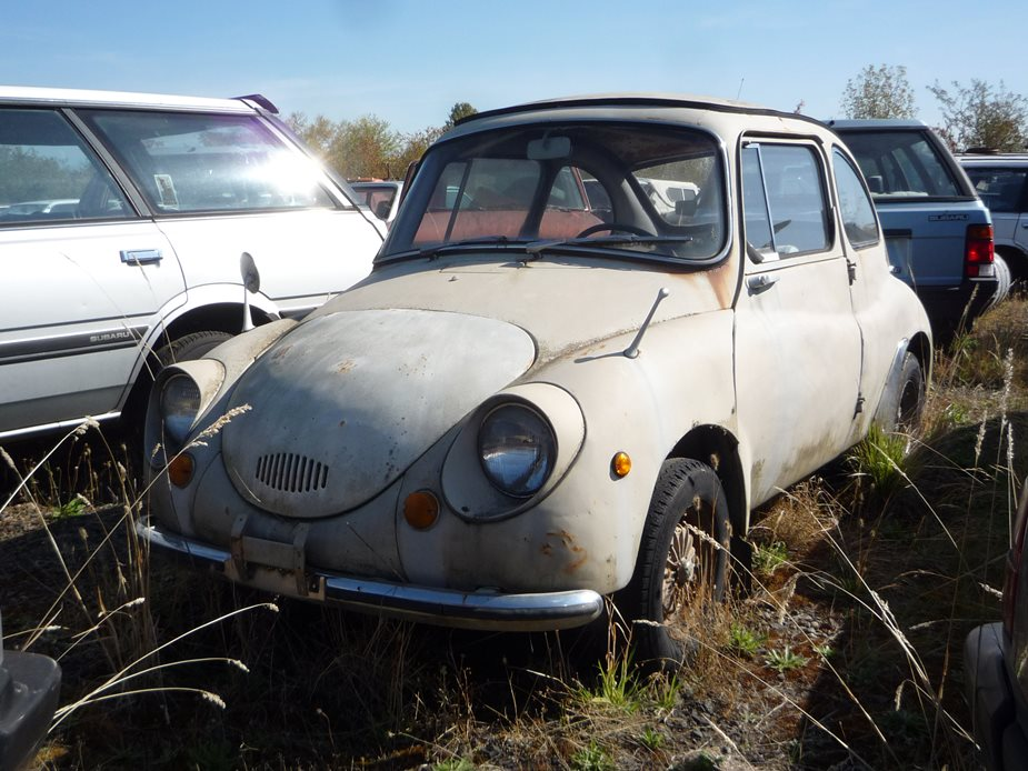 Junkyard Classic: Subaru 360 - It All Started With This ...