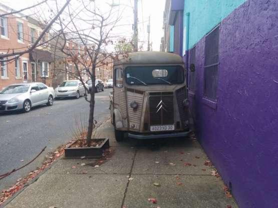 Citroen HY truck fr