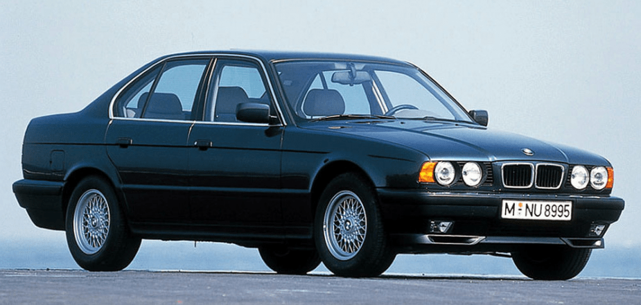 Curbside Classic 1992 BMW 525i E34  The Red Bimmer Of My