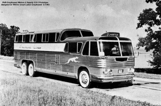 Greyhound GX-2 Prototype