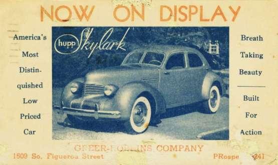 Hupp Skylark 1936