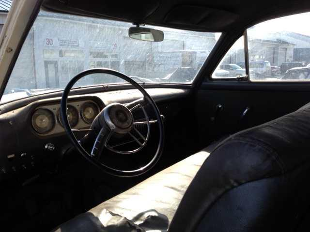 Packard interior