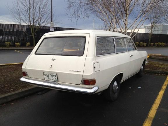Opel Rekord 1963 wagon rq