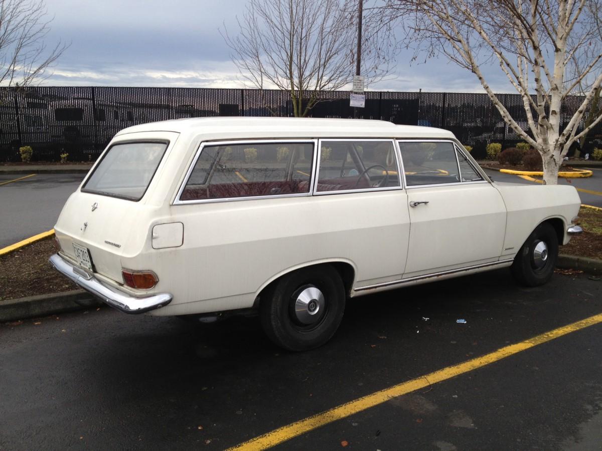 Cc capsule 1965 opel rekord b caravan the only one like it in opel rekord 1963 wagon side sciox Choice Image