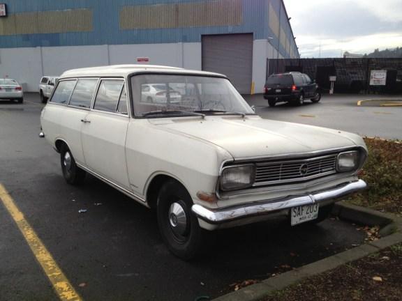 Opel Rekord 1963  wagon