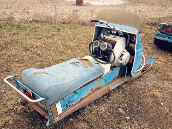 Snowcruiser 32 rear