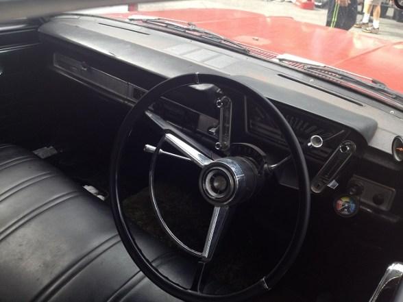 1965 Rambler Classic sedan red dash