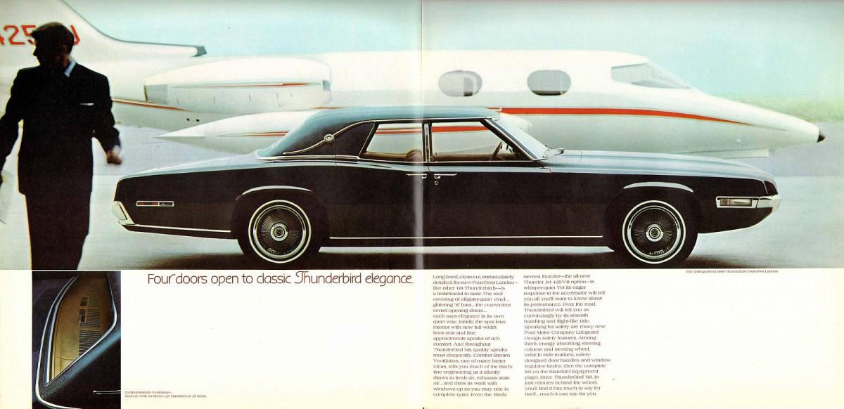 Curbside Classic 1967 Ford Thunderbird Landau Sedan Are Four