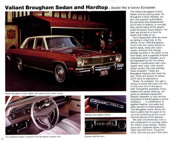 1975 Valiant Brougham