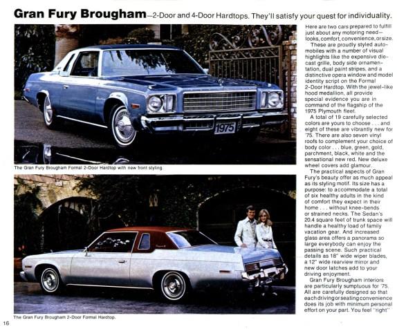 1975Gran Fury Brougham