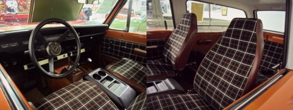 1979 International Scout Traveler interior