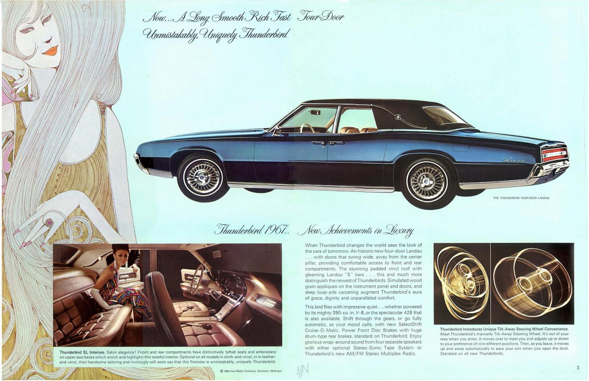 Curbside Classic 1967 Ford Thunderbird Landau Sedan Are