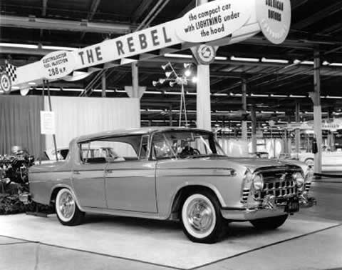 Rambler Rebel 1957 show