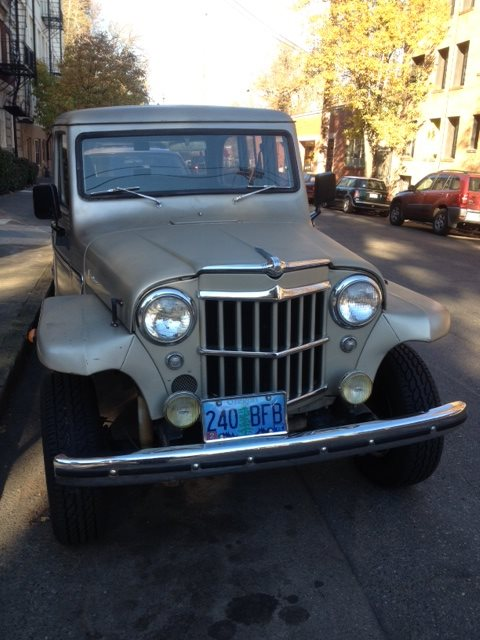 Willys Jeep wagon f
