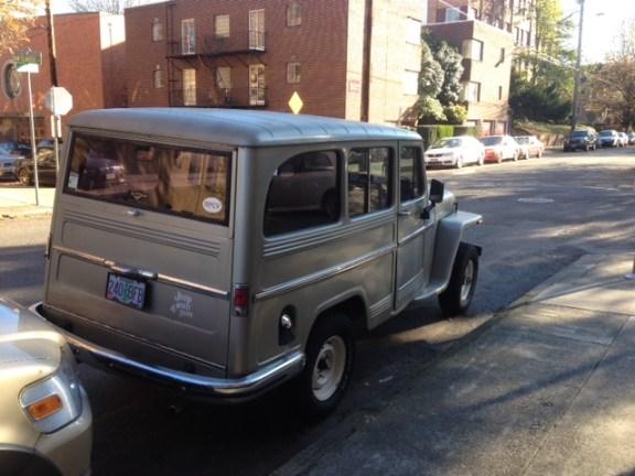 Willys Jeep wagon rq