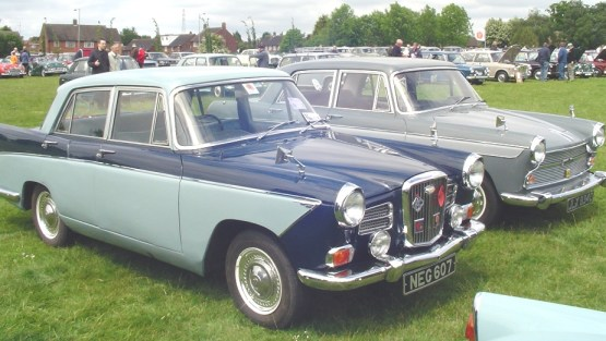 Wolseley 16-60 Austiin Cambridge A60