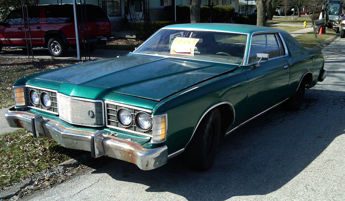 1974 Ford Ltd Diagram Content Resource Of Wiring 1970 Curbside Classic 1973 Bring On The Bloat Rh Curbsideclassic Com 1971