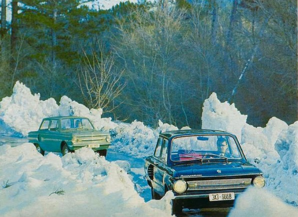 966B in snow