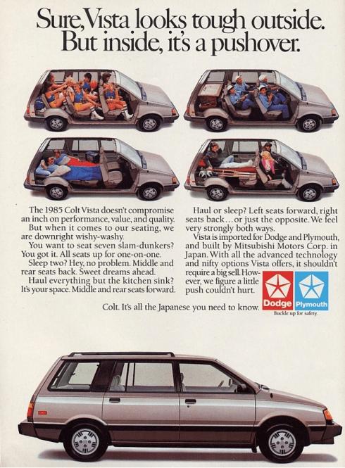 Dodge Vista ad