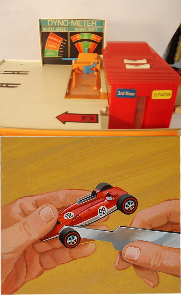 Hot Wheels Dyno-meter