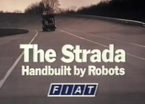 Fiat Strada advert 1