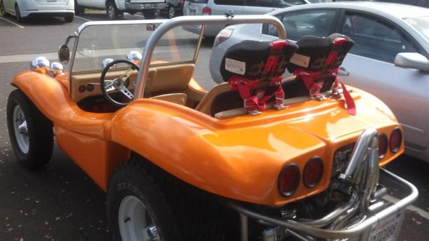 VW Buggy orange rq