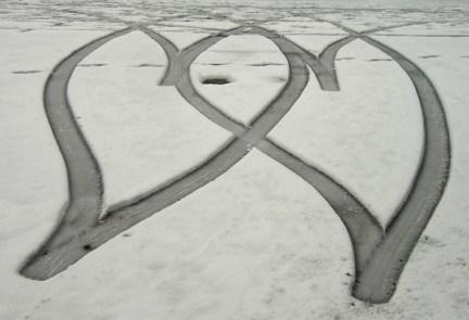 Valentines-day-car-tracks
