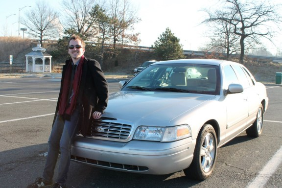 Me with a considerably less dynamic Panther sedan