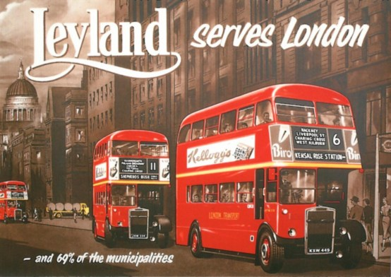 leyland serves london