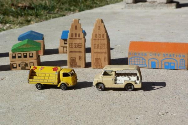 My Matchbox village