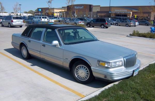 HALF TOP CANVAS TOP OPERA LIGHT OPERA LIGHT SET FOR 2003 LINCOLN TOWN CAR