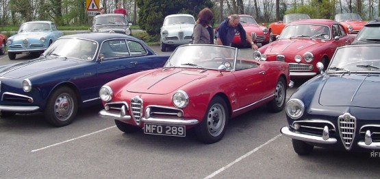 1957 Alfa Romeo Giulietta Spider.1
