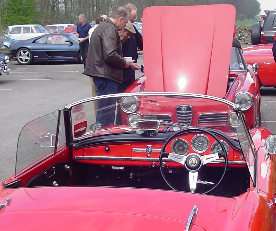 1963 Alfa Romeo Giuletta Spider