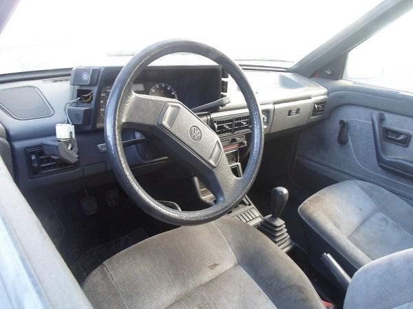1987 Volkswagen Fox interior