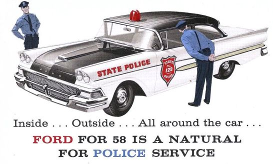 Ford 1958 Police with 361 FE
