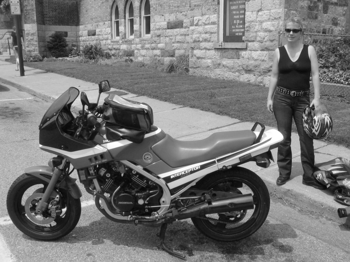 Boal Honda 450 Nighthawk The Best First Bike 1982 Motorcycle Mrs Dougd
