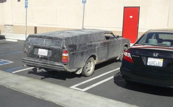 Volvo 245 Chopped rear 3 quarter