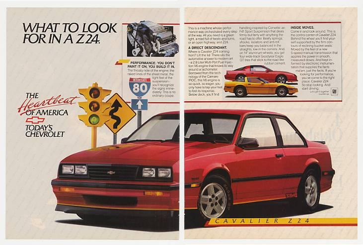 Curbside Classic 1990 Chevrolet Cavalier Z 24 Camaro Z 28 Minus Four