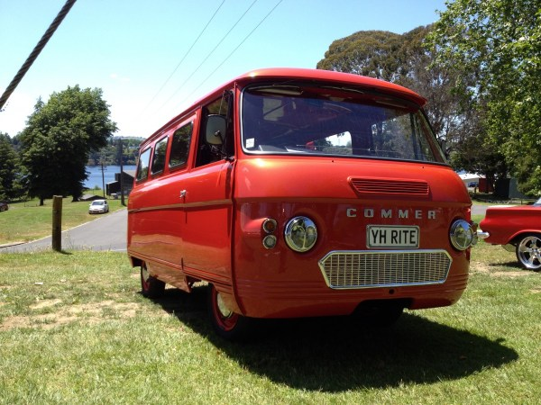 1975 COMMER 2500 van orange fr