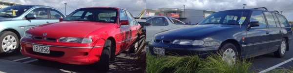 1995 VS HOLDEN Berlina sedan and Acclaim wagon