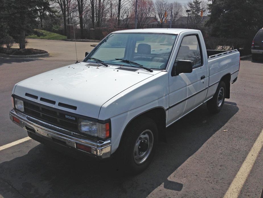 cc capsule 1989 nissan hardbody \u2013 let\u0027s do the time warp 1989 Nissan Pickup Bench Seat 89nissanhardbody1jg