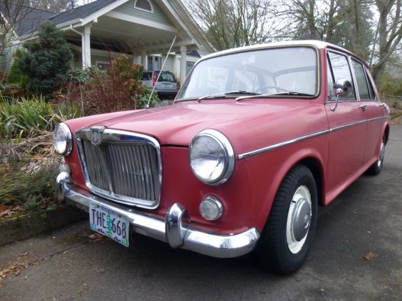 curbside classic 1965 mg1100 ado16 bmc s greatest hit. Black Bedroom Furniture Sets. Home Design Ideas