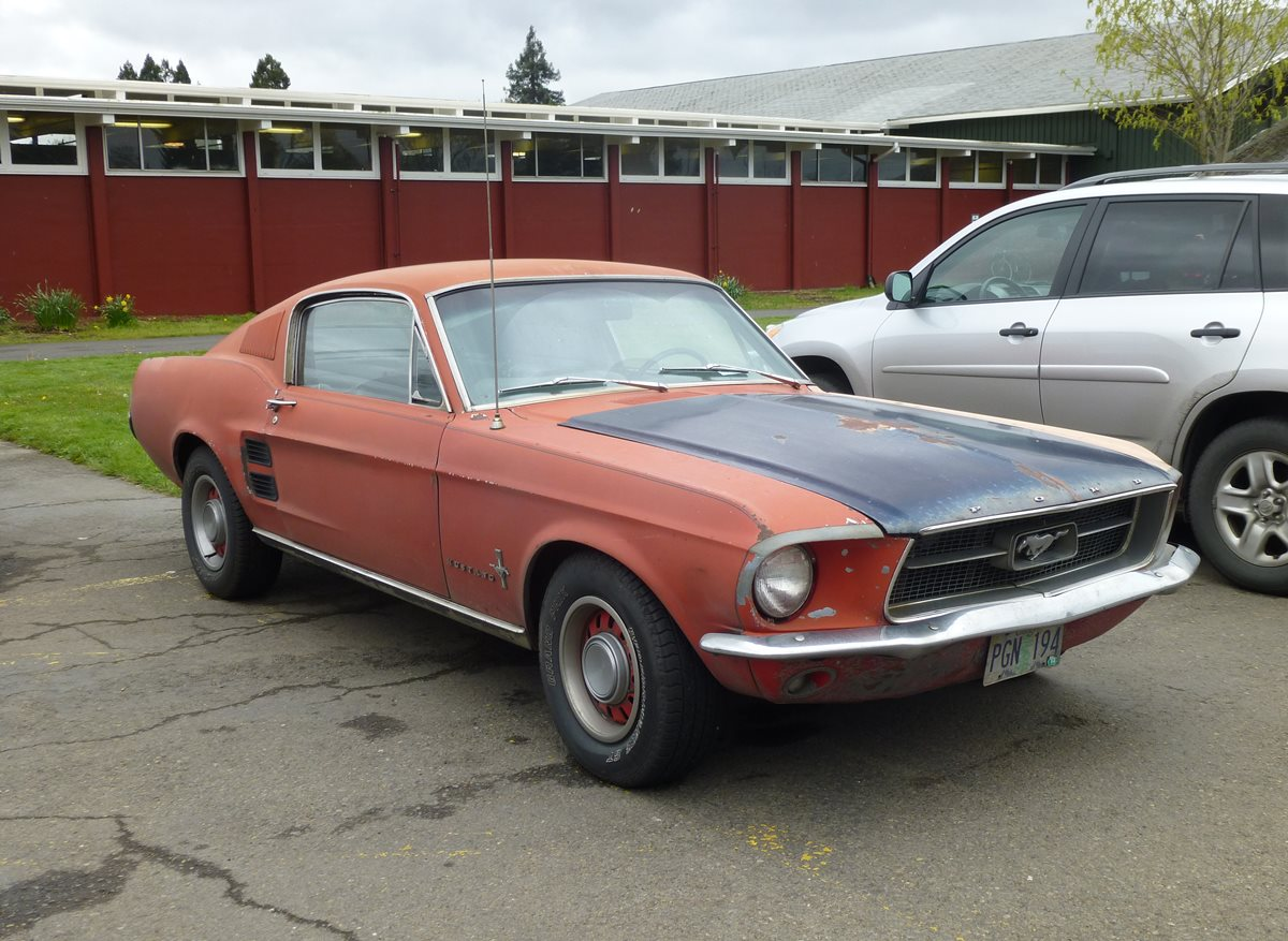 Mustang Salute Finale CC: 1967 Mustang 2+2 Fastback – The Beginning ...