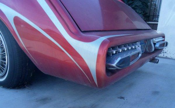 Cadillac Seville custom bumper