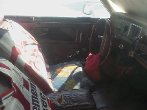Ford Granada interior