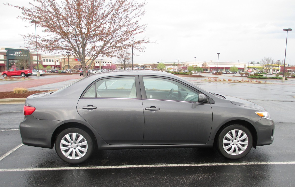 Curbside rental service 2013 toyota corolla le you asked for it you got it