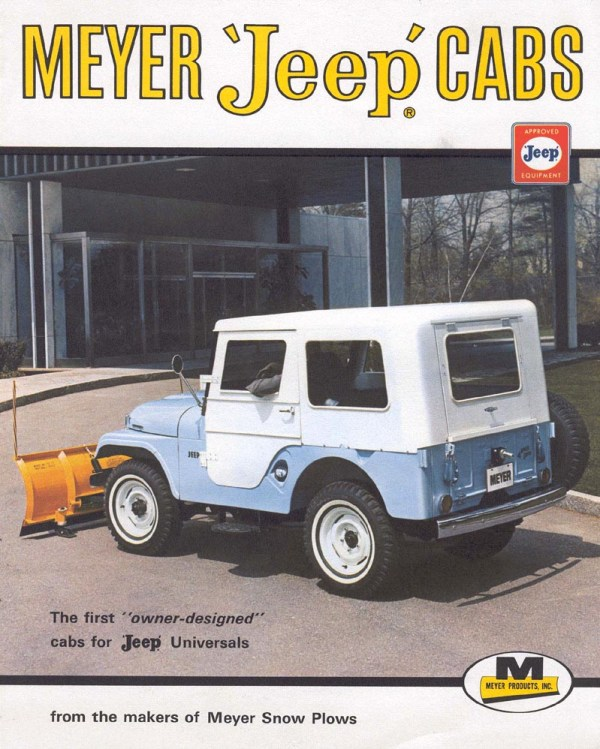Jeep CJ-5 Meyer Cab