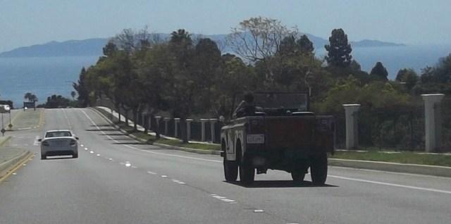 Land Rover and Catalina